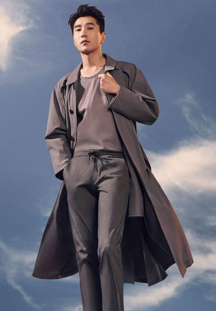 男星趙又廷從今年春夏起出任BOSS大中華區品牌代言人。圖/HUGO BOSS提供