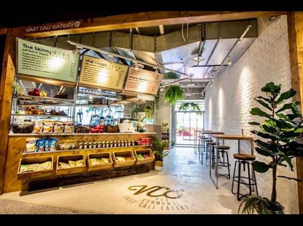 VAST Cali Eatery在新光三越台北南西三館七樓開設百貨首店。圖/摘自...