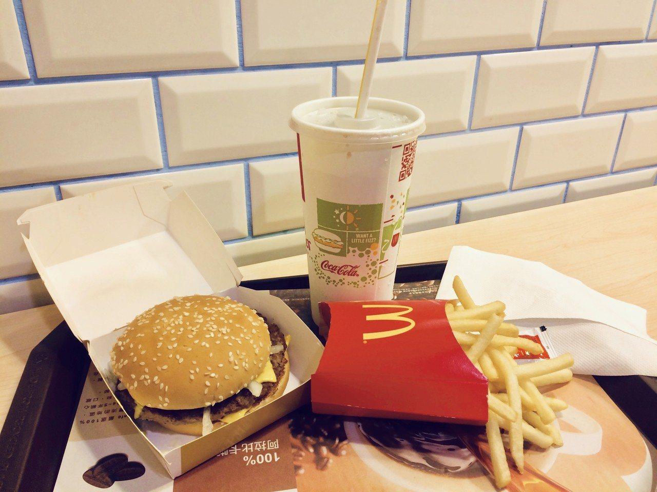 麥當勞公布12項餐點即將停售。記者張芳瑜/攝影