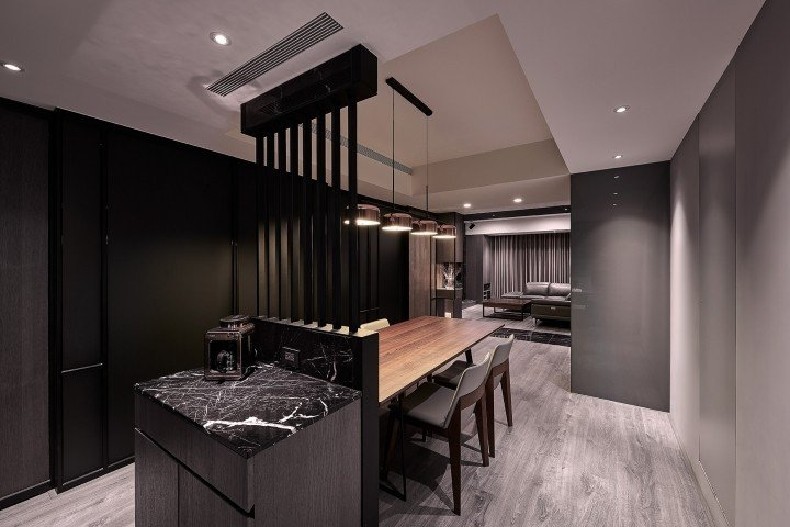 網友eatpot把老公寓,改裝後變成飯店級豪宅,讓人驚豔。圖/網友eatpot授...
