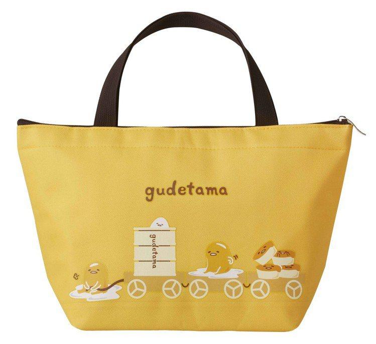 禮盒包含專屬蛋黃哥雙面保冷袋。圖/COLD STONE提供