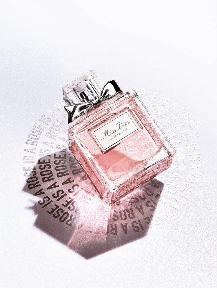 全新Miss Dior淡香水,50ml售價3,300元、100ml售價4,650...