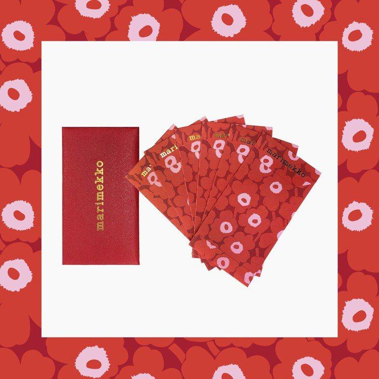 1月26日起於marimekko全省門市消費滿1,000 元即贈品牌紅包袋乙份,...