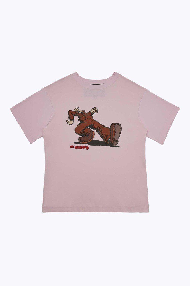 Robert Crumb塗鴉系列T恤,5,890元。圖/Marc Jacobs提...
