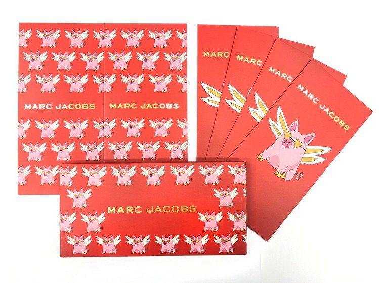 1月25日起凡到Marc Jacobs店上消費,不限金額即可得到一組開運飛天豬紅...