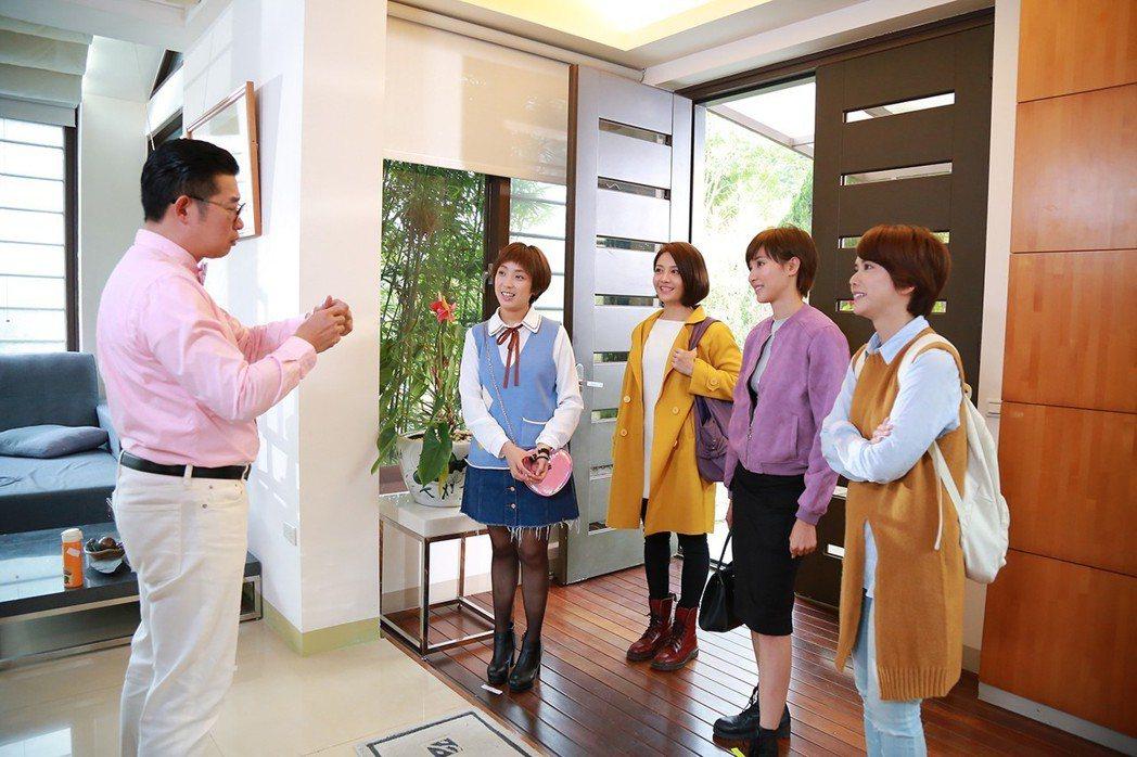 「女兵日記」演員群再度合體。圖/TVBS提供