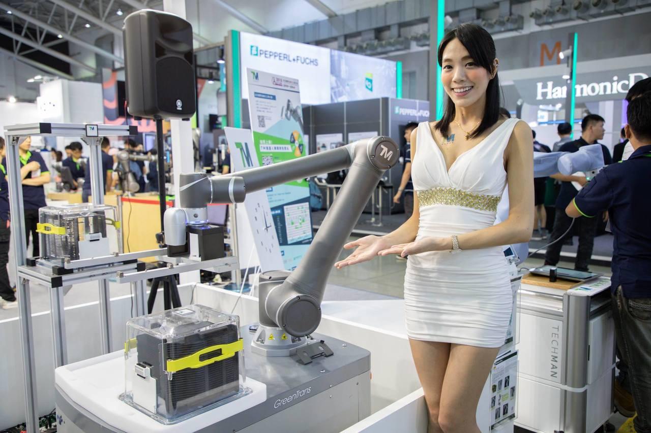 廣明宣佈,旗下自有品牌達明機器人將在日本新興機器人展RoboDEX中亮相。 圖/...