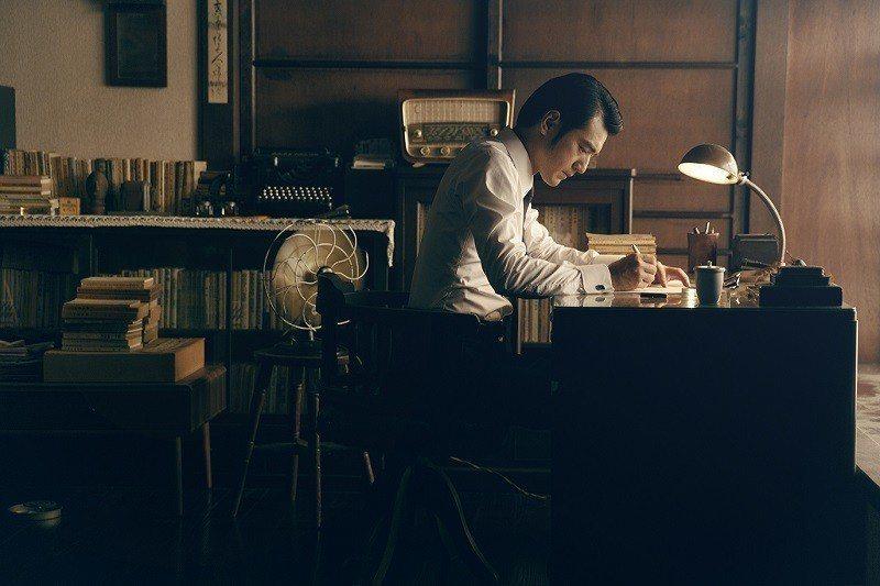 「世界愈快,心,則慢。」金城武替中華電信在宜蘭「合盛太平Cafe Story」拍...