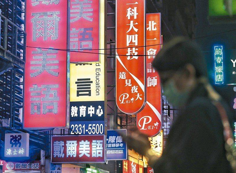 根據2018年台灣大型企業人才國際化及外語職能管理調查報告,台灣大學生多益測驗與企業需求有明顯落差。 圖/聯合報系資料照片