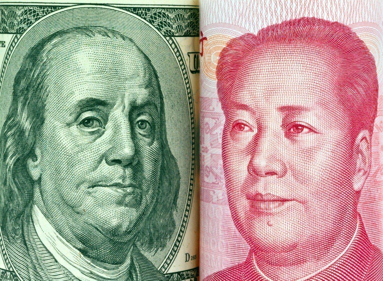 外界認為,中國可能藉大力貶值人民幣因應美中貿易戰。 圖/Ingimage
