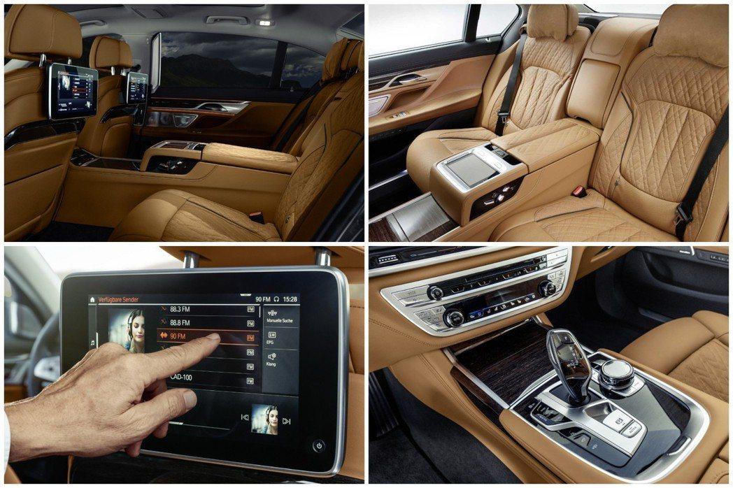 依舊豪華的小改款BMW 7 Series內裝。 摘自BMW