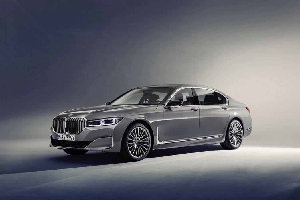BMW 7 Series LCI。 摘自BMW