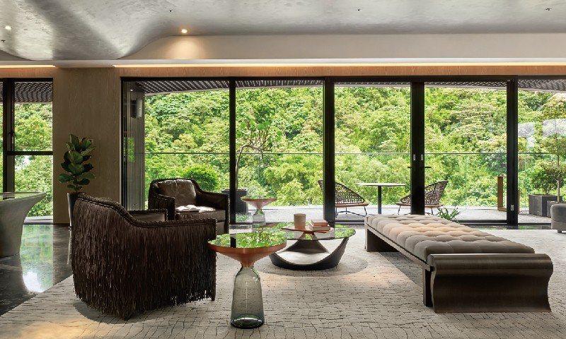 「新美齊Jade12」室內綠意窗景實景攝影 圖/新美齊 Jade12 提供