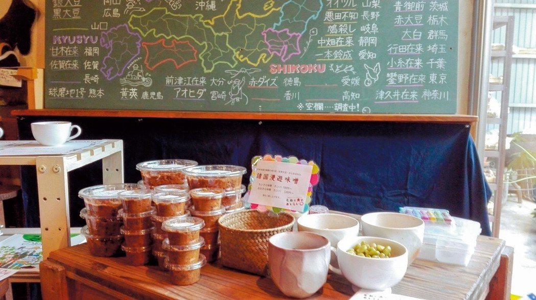 日本透過製作味噌傳達地方品種的多樣性與重要性。圖/簡子倫提供
