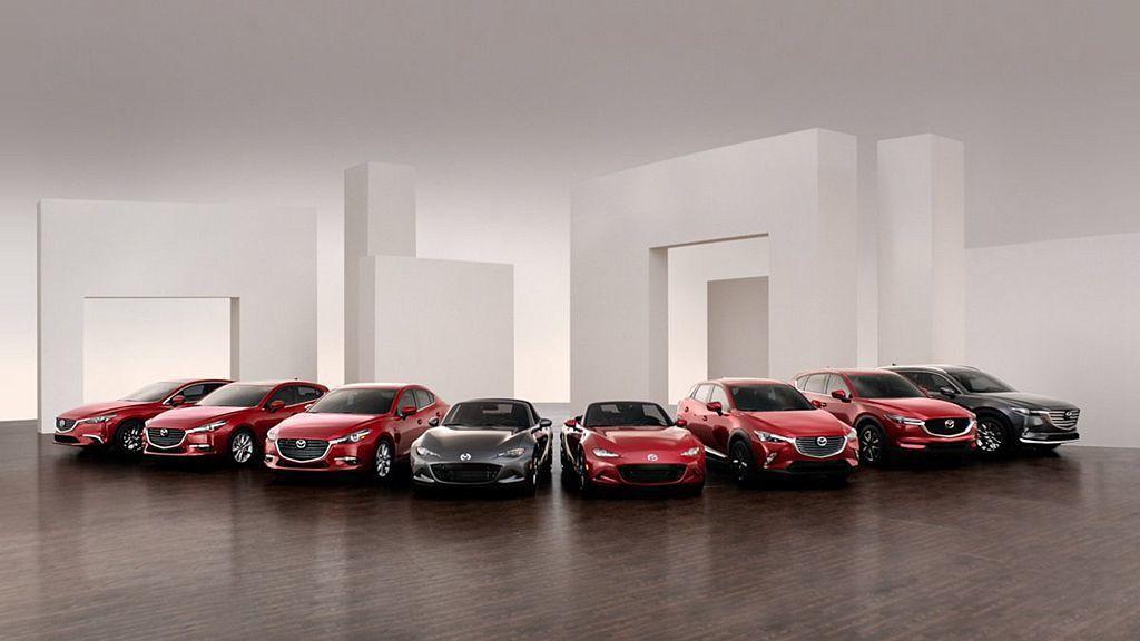 2018年Mazda汽車在美國市場共賣出300,325輛成績,對比2017年成長...