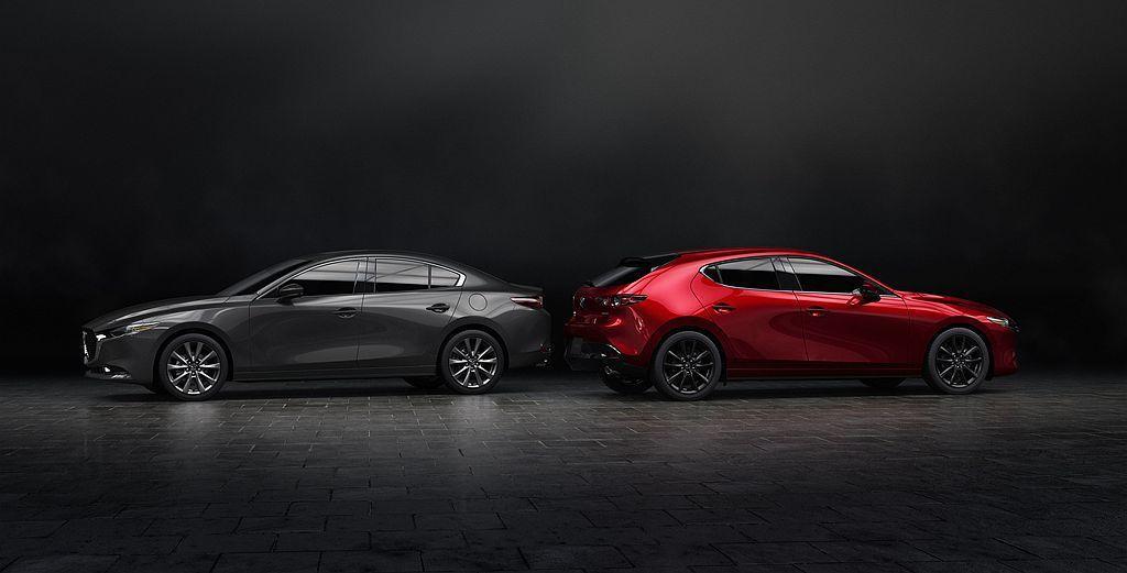 全新第四代Mazda3車系今年起才會開賣,因此去年美國市場賣的現行款Mazda3...