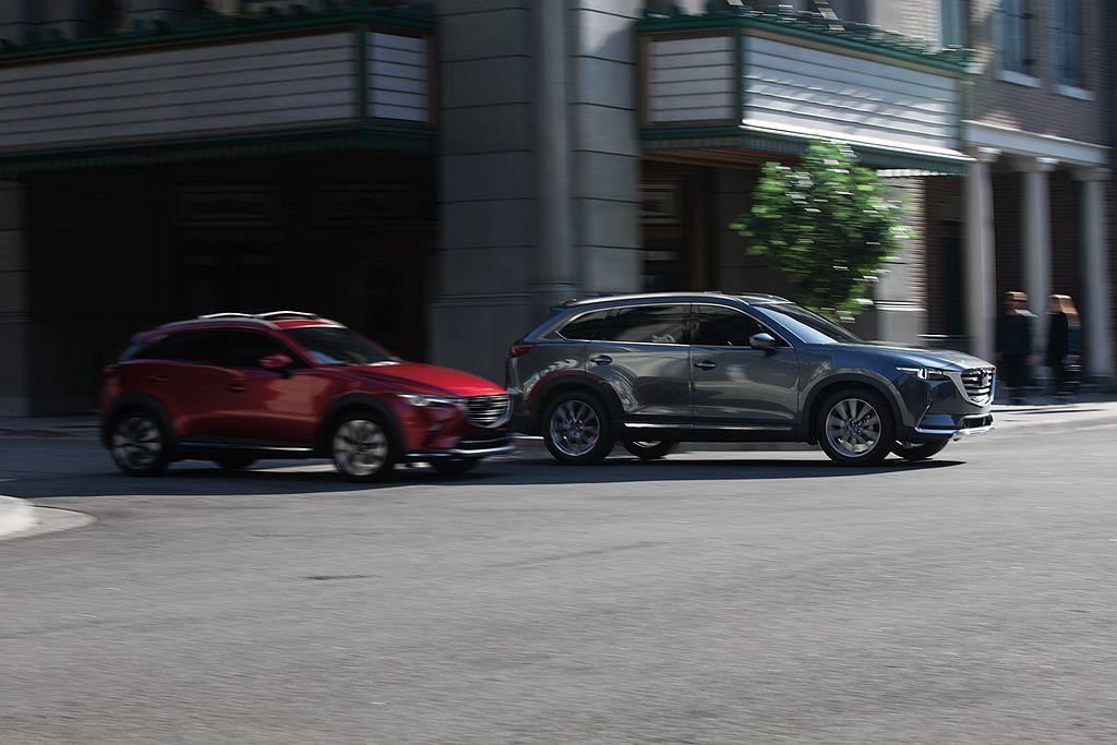 7人座休旅Mazda CX-9去年在美國賣出28,275輛且成長9.4%,都會跨...