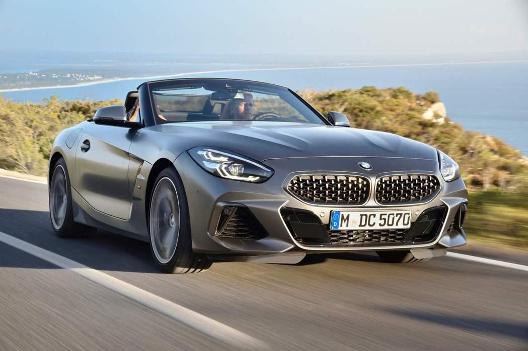 BMW Z4 M40i。 摘自BMW