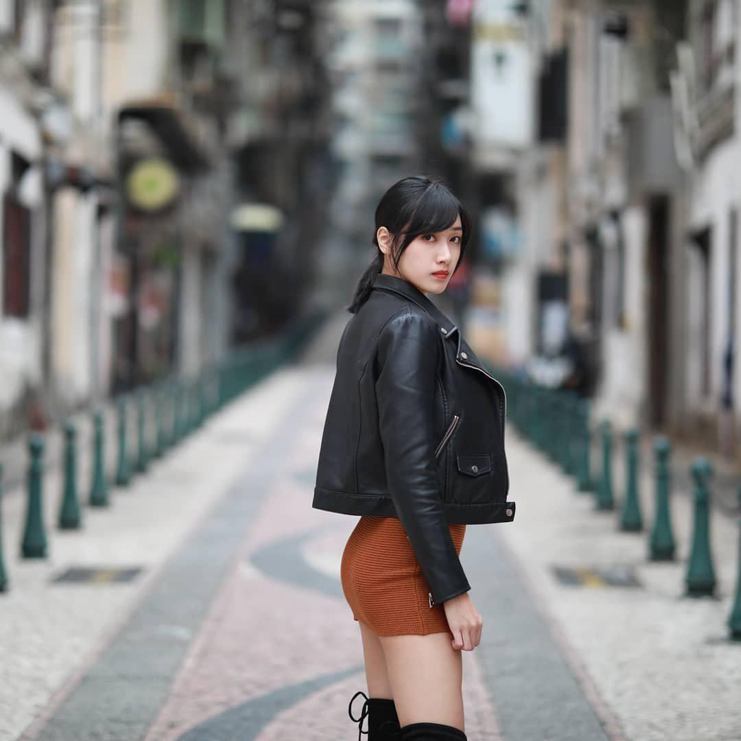 這名淡江正妹擁有好身材。 圖擷自PTT表特版