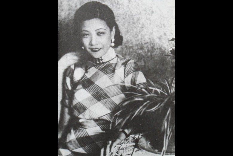 1930年代中國默片時代的一代紅星阮玲玉。 圖/聯合報系資料照