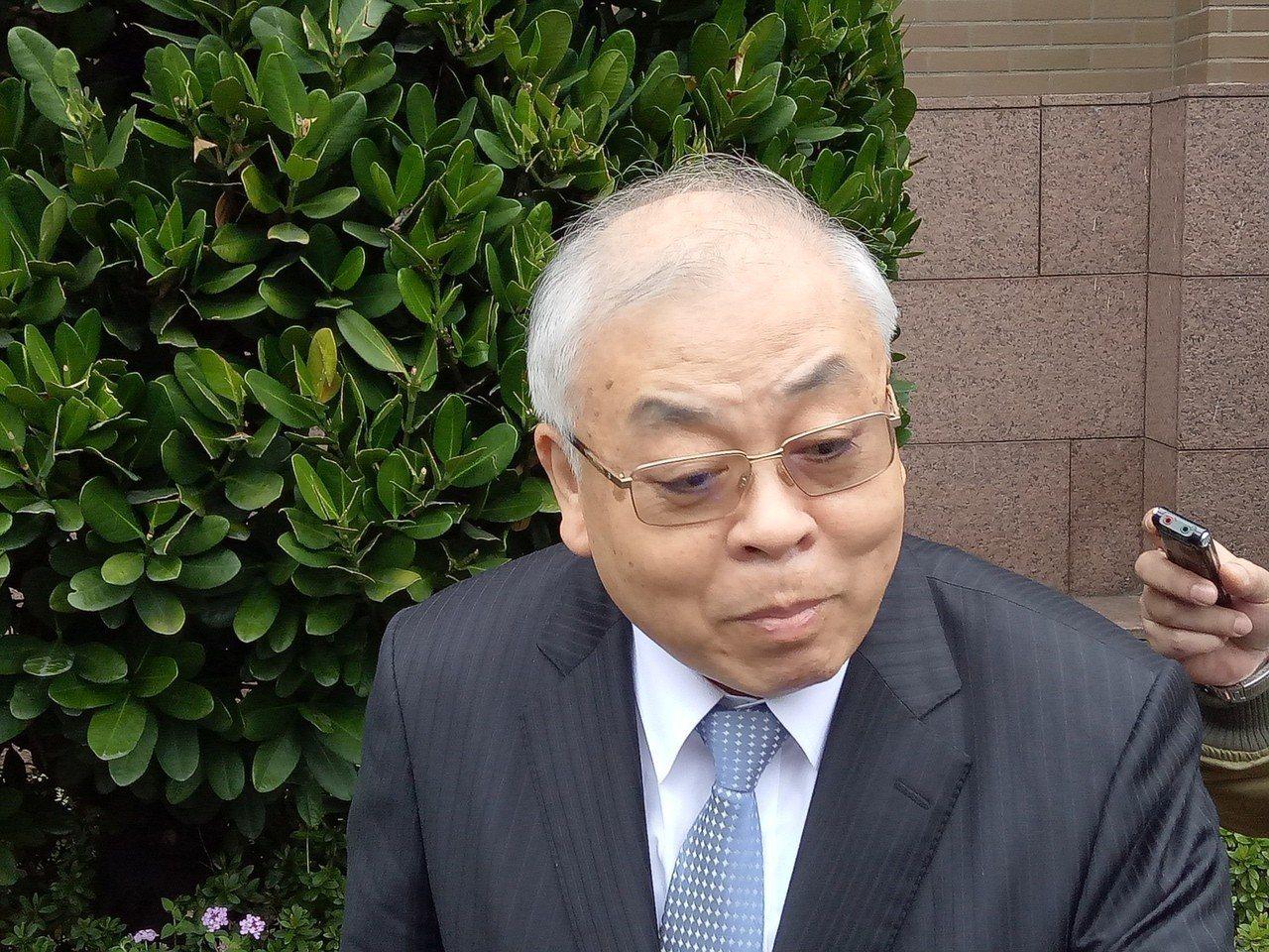 主計長朱澤民。記者林河名/攝影