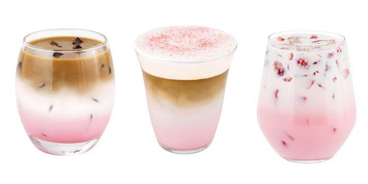 1/25草莓飲品系列將壓軸登場,每杯售價85元。圖/Mister Donut提供