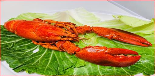 SOGO忠孝館首度推出「龍蝦節」,超市消費滿2千元,可以800元加購價帶回波士頓...