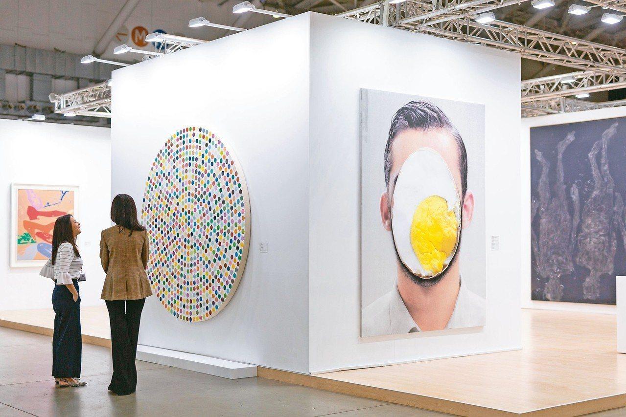 台北當代藝術博覽會18日至20日在南港展覽館舉行。 圖/台北當代藝術博覽會提供