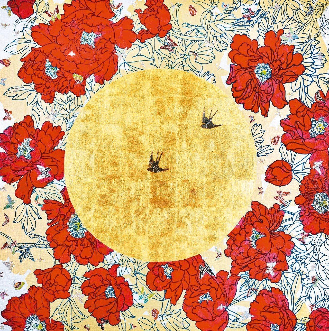 學古齋畫廊展出 OH Myung Hee 「Delight」。 圖/台北當代藝術...