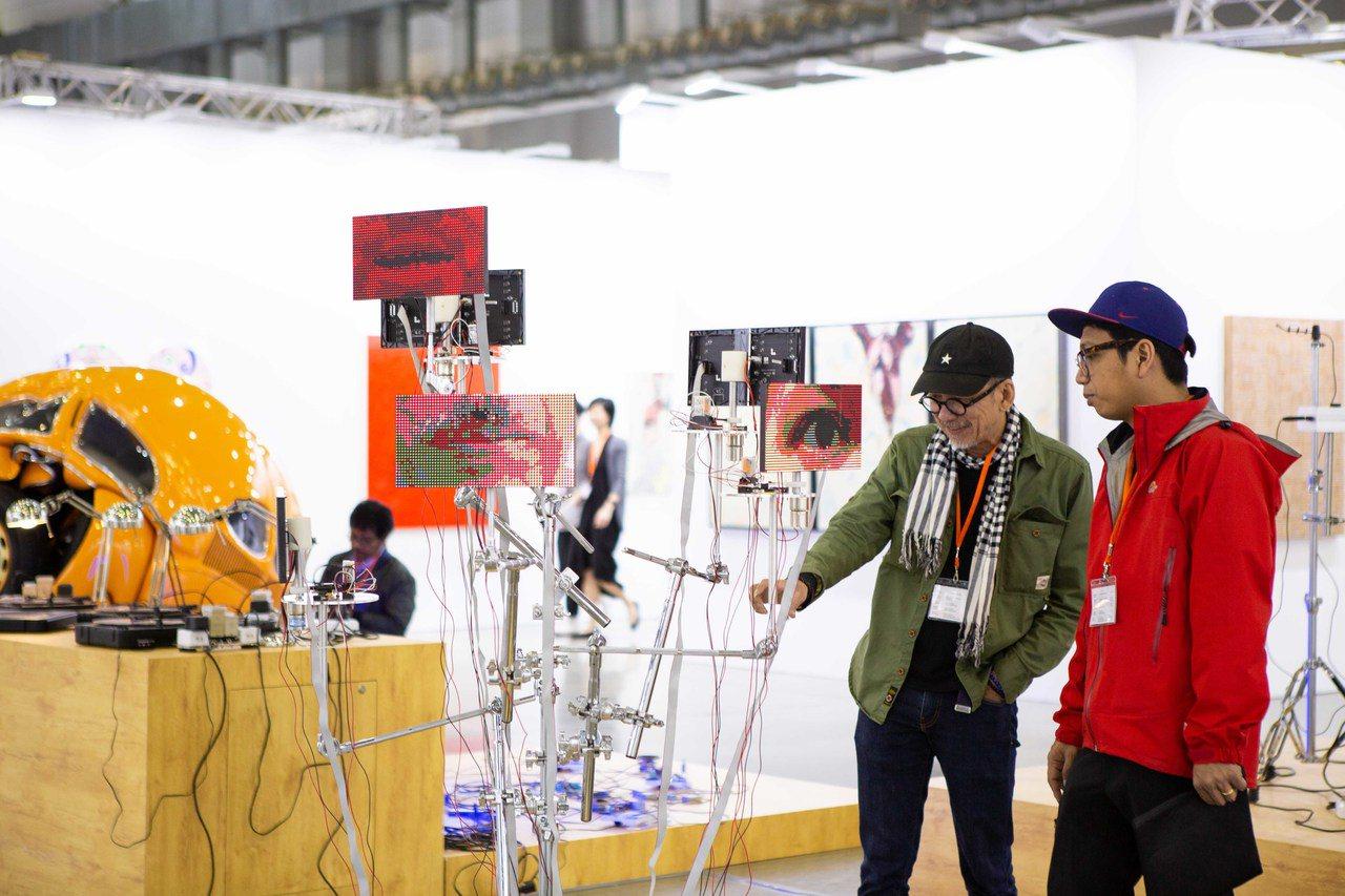 台北當代藝術博覽會18日至20日在南港展覽館舉行。圖/台北當代藝術博覽會提供