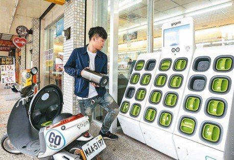 騎Gogoro環島不是夢 電池交換站全台正式串聯