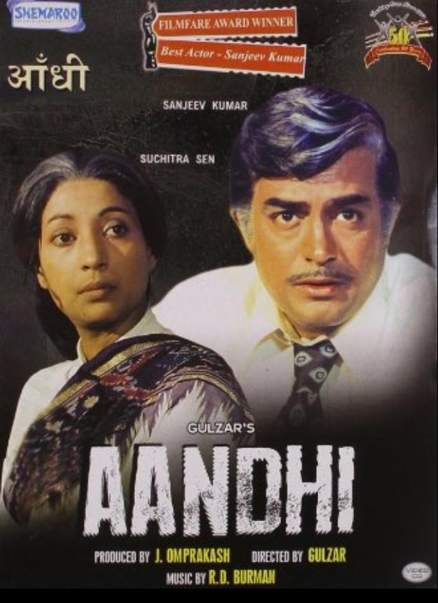 1975年的印度電影「風暴」,遭到政府禁播。 (取自IMDB網站)