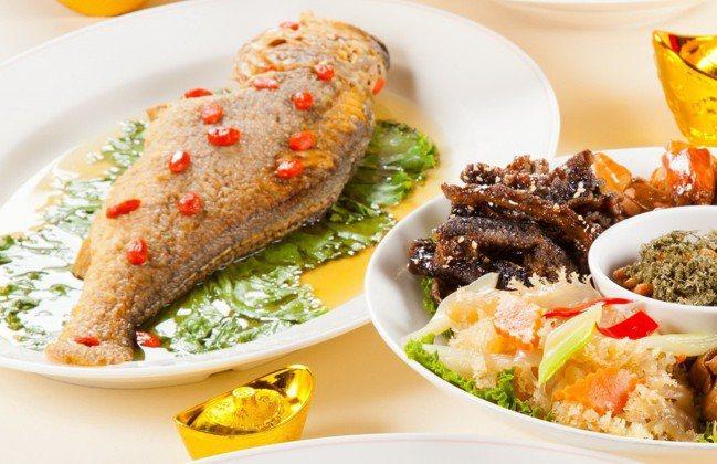 徐雪芳的年菜記憶裡頭,一尾漂亮的魚是重點。 圖/業者提供