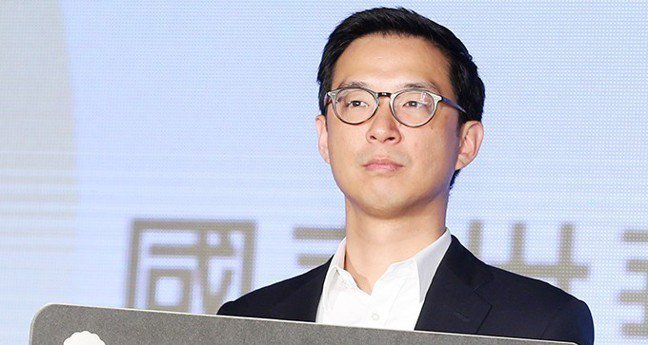 國泰集團少東蔡宗翰。 報系資料照
