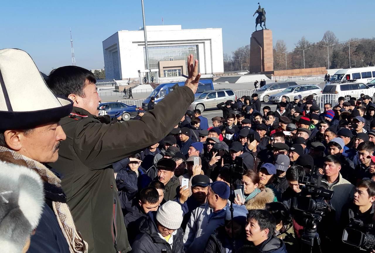 中亞的吉爾吉斯爆發反中示威,18日當地警方逮捕21名抗議人士。路透