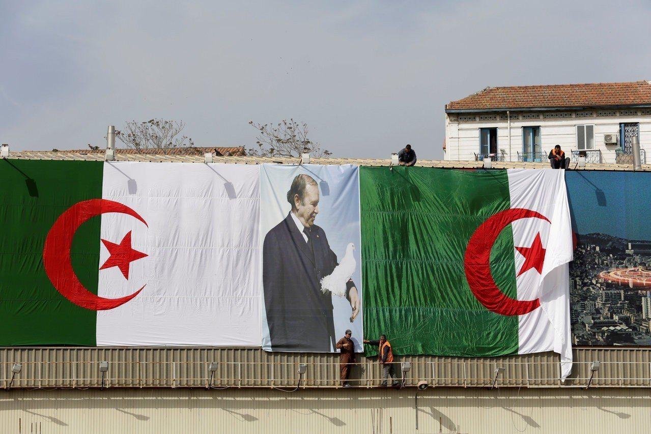 阿爾及利亞現任總統包特夫里卡(Abdelaziz Bouteflika)可能尋求...
