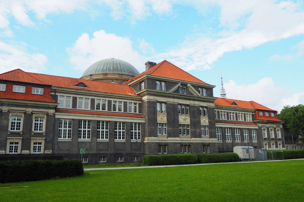 作者所就讀的漢堡大學。 圖/取自Teresa Grau Ros(BY-SA 2....
