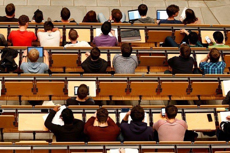 圖為位於德國慕尼黑的大學之上課情形。 圖/路透社