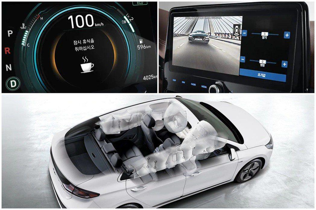 小改款Hyundai Ioniq全車系標配Hyundai SmartSense主...