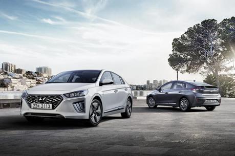 科技質感再進化 小改款Hyundai Ioniq韓國搶先販售!