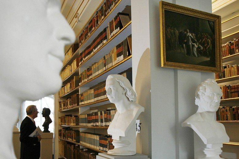 位於德國威瑪的安娜.阿瑪利亞公爵夫人圖書館(Duchess Anna Amali...