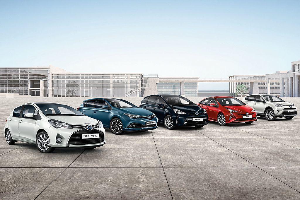 Toyota汽車集團,去年在歐洲市場Hybrid車款的銷售持續成長並在2018年...