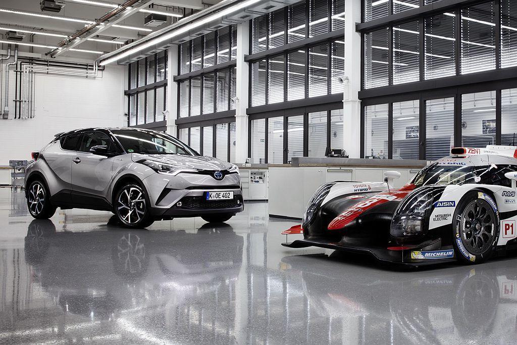 Toyota集團去年在歐洲市場銷售持續增長,賣最好的休旅車款為C-HR! 圖/T...