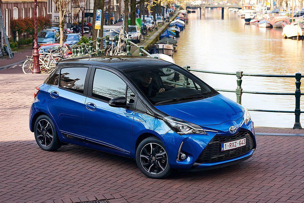 Toyota汽車去年在歐洲地區最熱賣車款為掀背小車Yaris。 圖/Toyota...