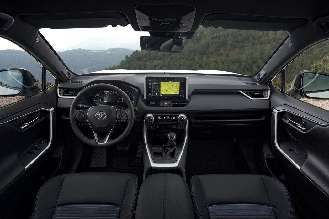 新世代歐規Toyota RAV4 Hybrid內裝。 摘自Toyota