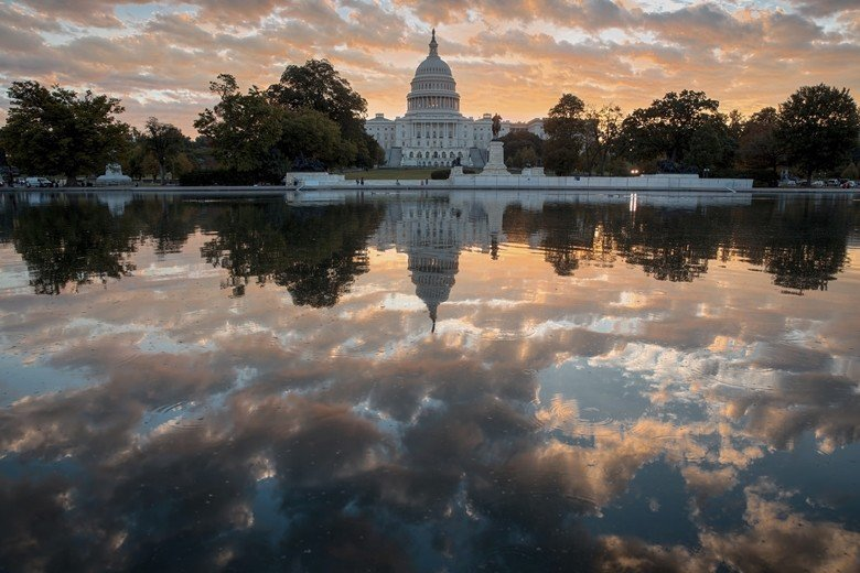 位於華盛頓的美國國會大廈。 圖/美聯社