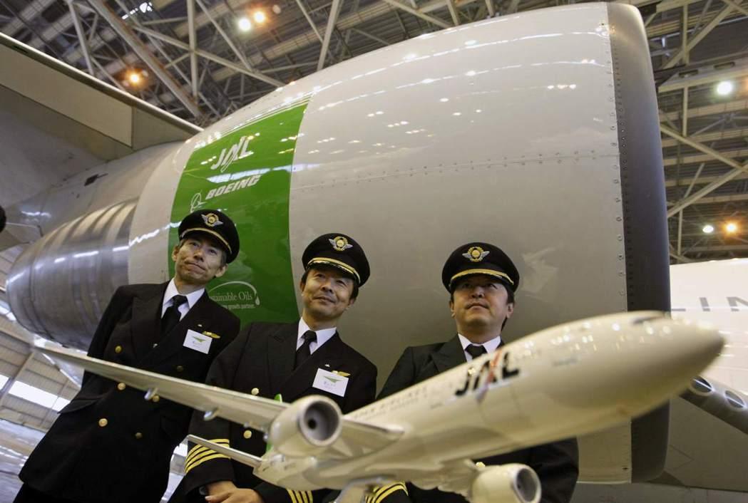 機師酒測出事,其實並非第一次。圖為JAL的機師,並非新聞當事人。 圖/路透社
