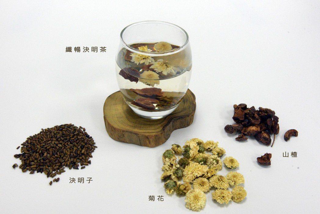熱秘型便秘可飲用「纖暢決明茶」圖/大林慈濟醫院提供