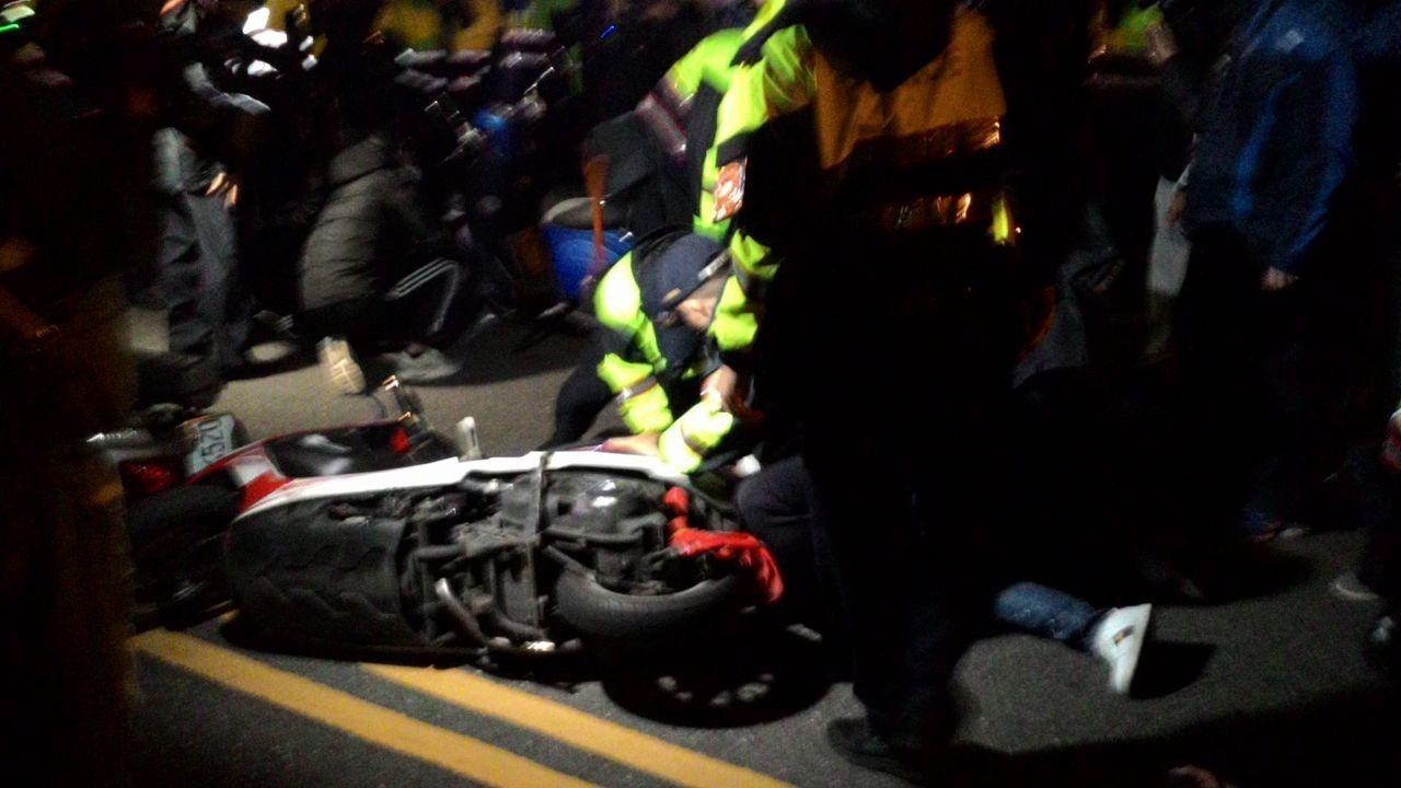 台南市警局認為,這次行動適時展現警方強制力,適當做出處置。圖/本報資料照