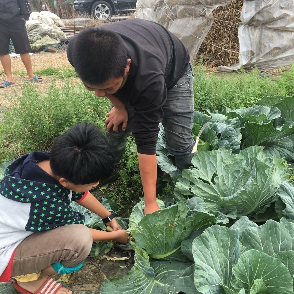 雲林農民長期照顧弱勢學童,也常提供食材為孩子們加菜,這群經濟弱勢的孩子大多上進貼...